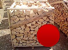 Listnaté tvrdé palivové drevo (buk, hrab, dub) štiepané, v paletách