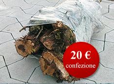 Hroznové drevo vhodné na prípravu pokrmov, balené